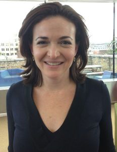 Sheryl Sandberg, COO of Facebook and leader of the Ban Bossy movement