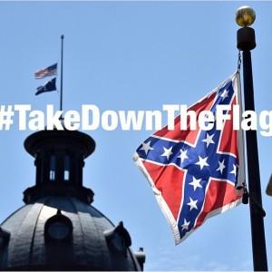 take down the flag